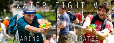 Le Water Fight V, le Flash Mob qui arrose à Paris