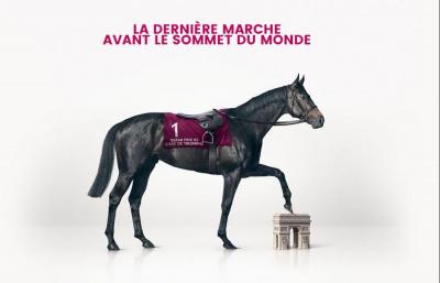 Qatar Prix de l'Arc de Triomphe 2016 à l'hippodrome de Chantilly