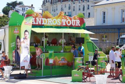 """Andros Tour 2016 : le food truck s'installe au Stade Charlety pour """"Sentez-vous Sport"""""""