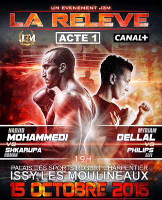Boxe : La Relève - Acte 1 débarque à Issy-les-Moulineaux !