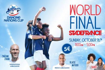 La finale mondiale de la Danone Nations Cup à Paris !