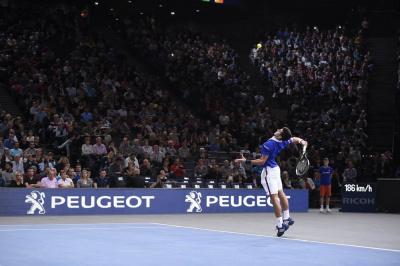 """Les """"Aces du coeur"""" au BNP Paribas Masters 2016 de Bercy"""