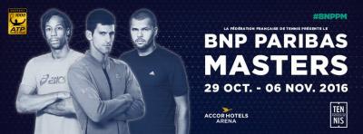 BNP Paribas Masters 2016 à l'AccorHotels Arena