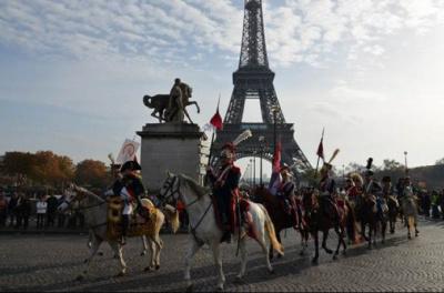 Le salon du cheval défile dans Paris