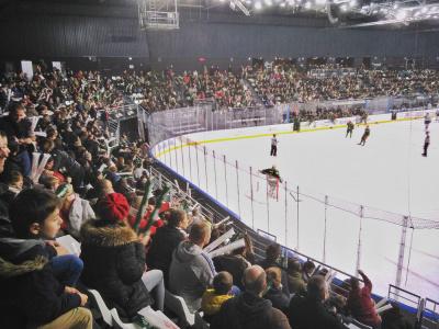 Les Bleues du hockey sur glace en TPQO à l'Aren'Ice