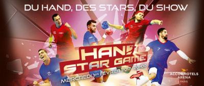 Le Hand Star Game revient à l'AccroHotels Arena de Paris !