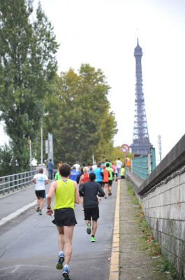 Le Paris Running Tour 2017 à Paris :