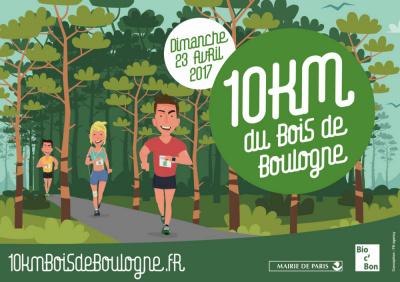 Le 10km du Bois de Boulogne 2017