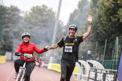 Paris Bike and Run 2017, la course avec 1 vélo pour 2 !