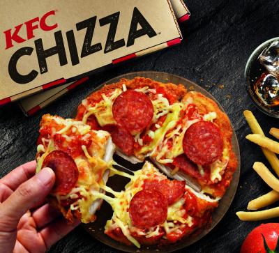 Chizza, le nouveau Mashup gourmand chez KFC
