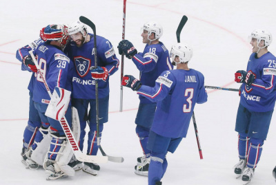 Hockey sur Glace : France - Suisse à l'Aren'Ice de Cergy !