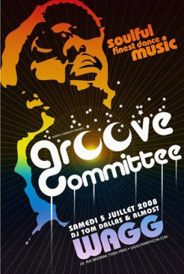 Soirée, Paris, Groove Committee, Tom Dallas, Almost, Wagg