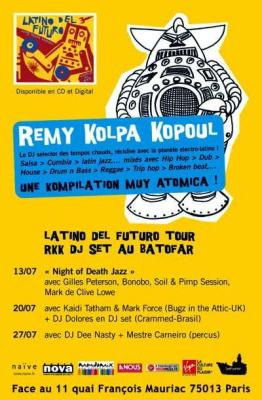 soirée, paris, batofar, salsa, latino, hip hop, ragga