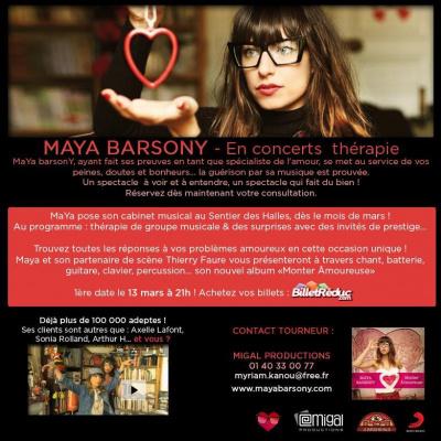 Maya Barsony - Concert Thérapie