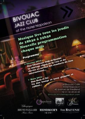 Musique live au Bivouac Café