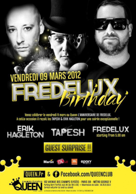 FREDELUX BIRTHDAY