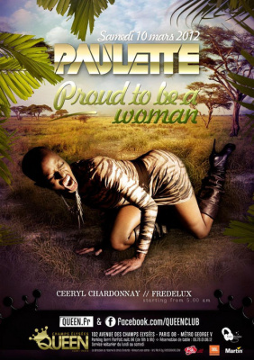DJ PAULETTE - Proud to be a woman
