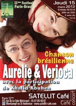 Aurelie & Verioca  avec la participation de Khalid Kouhen –Chanson brésilienne