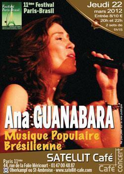 Ana GUANABARA  Musique Populaire Brésilienne