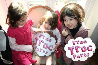 Free Troc Party spéciale enfants