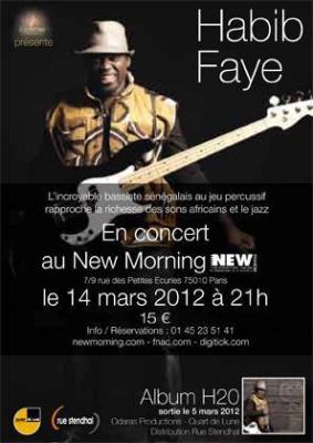 """Habib Faye présente """"H2O"""" son nouvel album"""