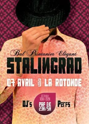 Evènement : « BAL PRINTANIER ELEGANT » le Samedi 7 Avril  à La Rotonde, Stalingrad