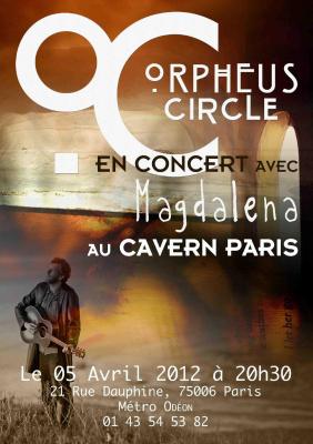 Orpheus Circle (ex Olivier Cosmann Trio) et Magdalena
