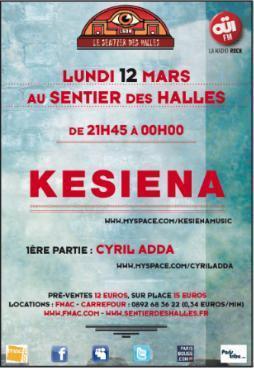 Kesiena @ Le Sentier des Halles