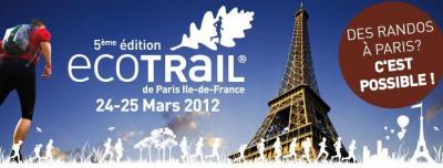 ECOTRAIL 25 MARS 2012 - Marche Nordique & Randonnées