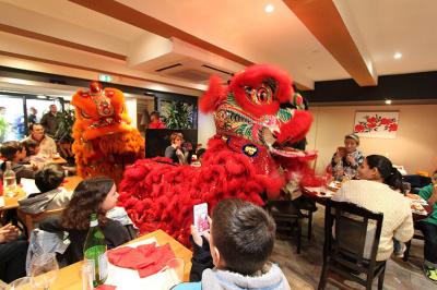 Nouvel an Chinois Chez Hé restaurant