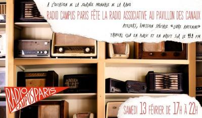 Radio Campus Paris fête la radio associative au Pavillon des Canaux