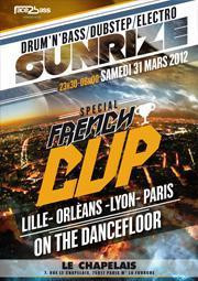 SUNRIZE SPECIAL FRENCH CUP (DnB / Dubstep) - PARIS