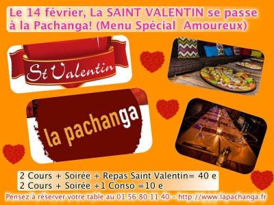 Soirée Latino St Valentin