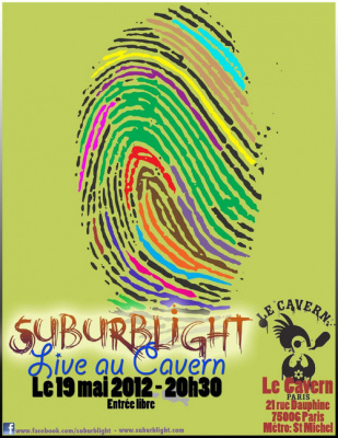 Suburblight au Cavern
