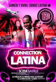 CONNECTION LATINA PARTY soirée 100% latino