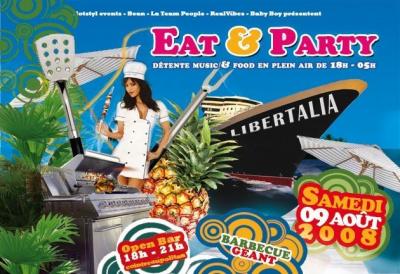 Soirée, Paris, Eat & Party, Libertalia, Barbecue, bbq