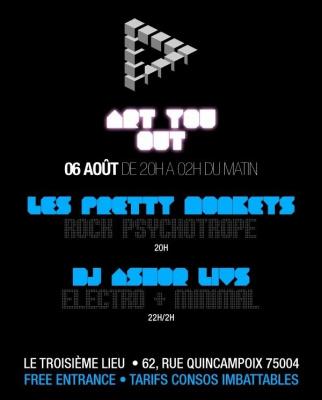 Soirée, Paris, Art You Out, Troisième Lieu,