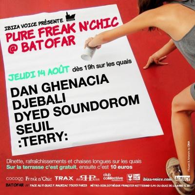 soirée, clubbing, paris, batofar, Pure Freak N'Chic