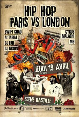 Concert Hip Hop, Cyrus Malachi, M9, Swift Guad, Al'Tarba, DJ Nix'on, DJ Fab
