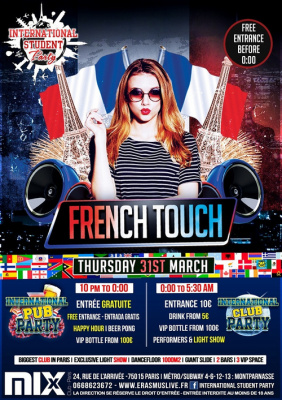 International Student Party - French Touch