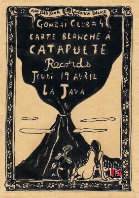 GONZAÏ CLUB #4 : Carte blanche à Catapulte Records