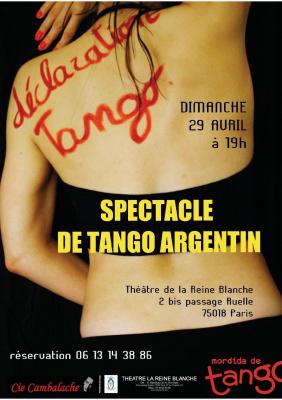 Déclaration Tango