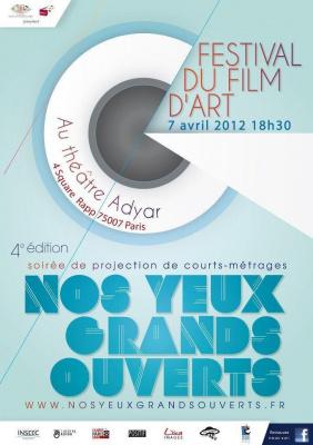 FESTIVAL DE FILMS D'ART NOS YEUX GRANDS OUVERTS 2012