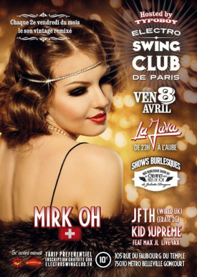 ELECTRO SWING CLUB @ LA JAVA