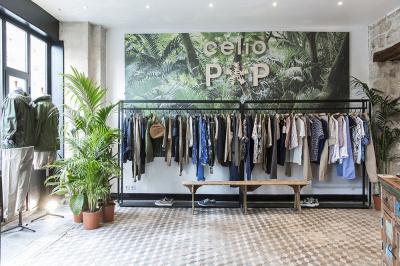 Pop-up store Célio rue de Charonne