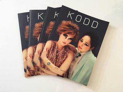 Kodd lance son magazine papier avec un pop-up store
