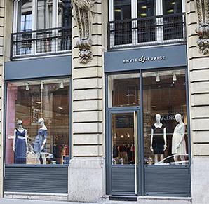 Envie de Fraise ouvre ouvre sa boutique de prêt-à-porter de maternité