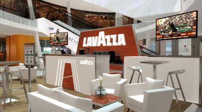 Lavazza s'installe à Beaugrenelle pour Roland Garros