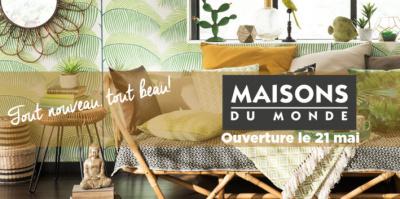 Maisons du Monde ouvre une boutique chez Domus