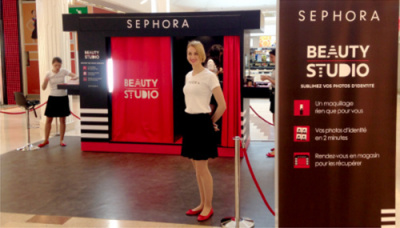Le roadshow Beauty Studio dans les centres de shopping